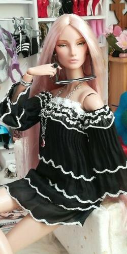 dollsydoll 12 inch fashion doll dress one size fits all Barb