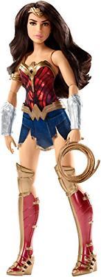 12 Inch Mattel Wonder Woman Action Doll Barbie Superhero Gir