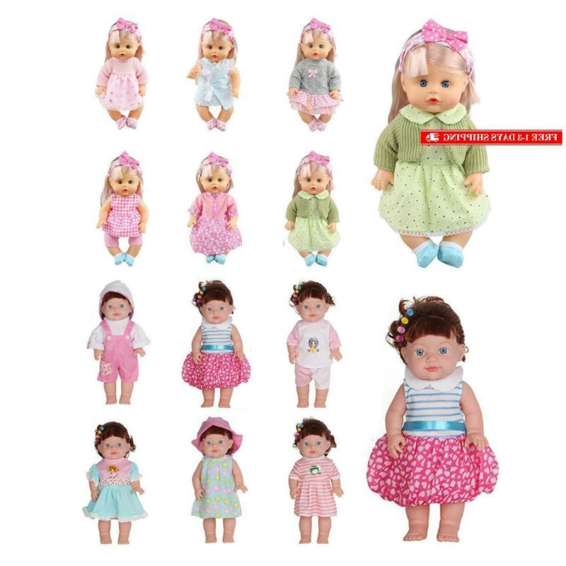 Huang Toys 12 Pcs Clothes Alive Outfits Costumes D