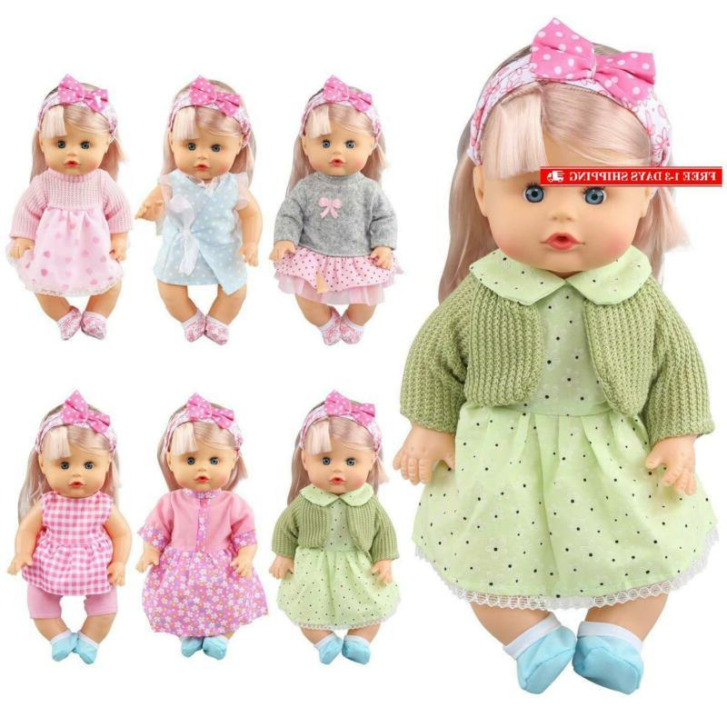 Huang Toys 12 Pcs Inch Clothes Outfits D