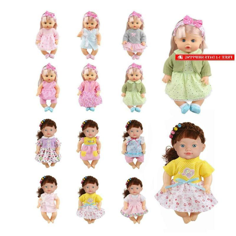 12 pcs 12 inch doll clothes alive