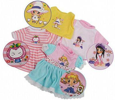 Huang Toys Pcs Set Handmade Baby Doll Clothes Cloth Toy