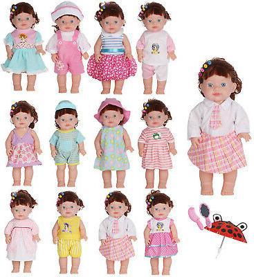 Huang Pcs Doll Dress Girl Cloth Toy