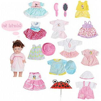 Huang Doll Clothes Dress Girl Cloth Toy