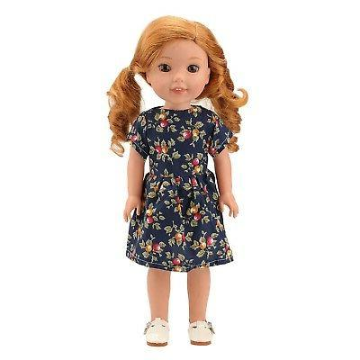 Barwa 14 inch Clothes Dress 3 Pair of Accessories Doll