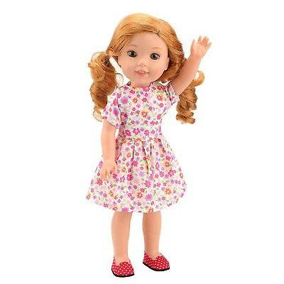 Barwa 14 Clothes 4 3 Pair of Shoes Doll