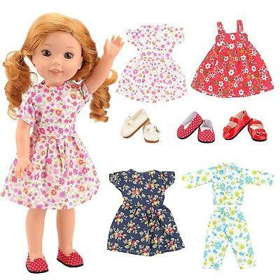14 inch doll clothes 4 dress 3