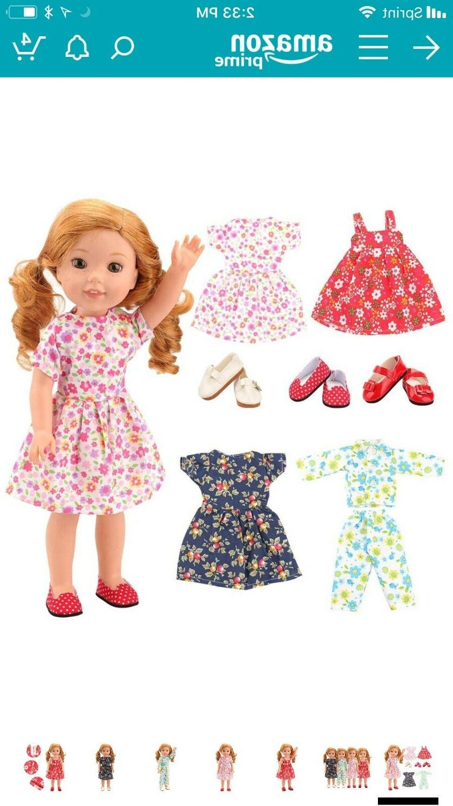 Barwa 14 Clothes, Wellie  Wishers Doll clothes