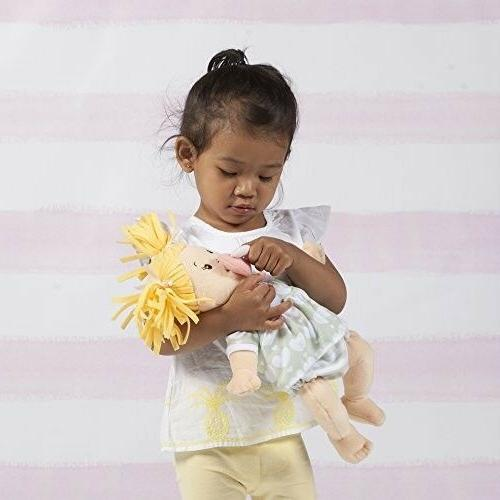 "15"" Manhattan Toy Stella Blonde First Baby Doll Ages"