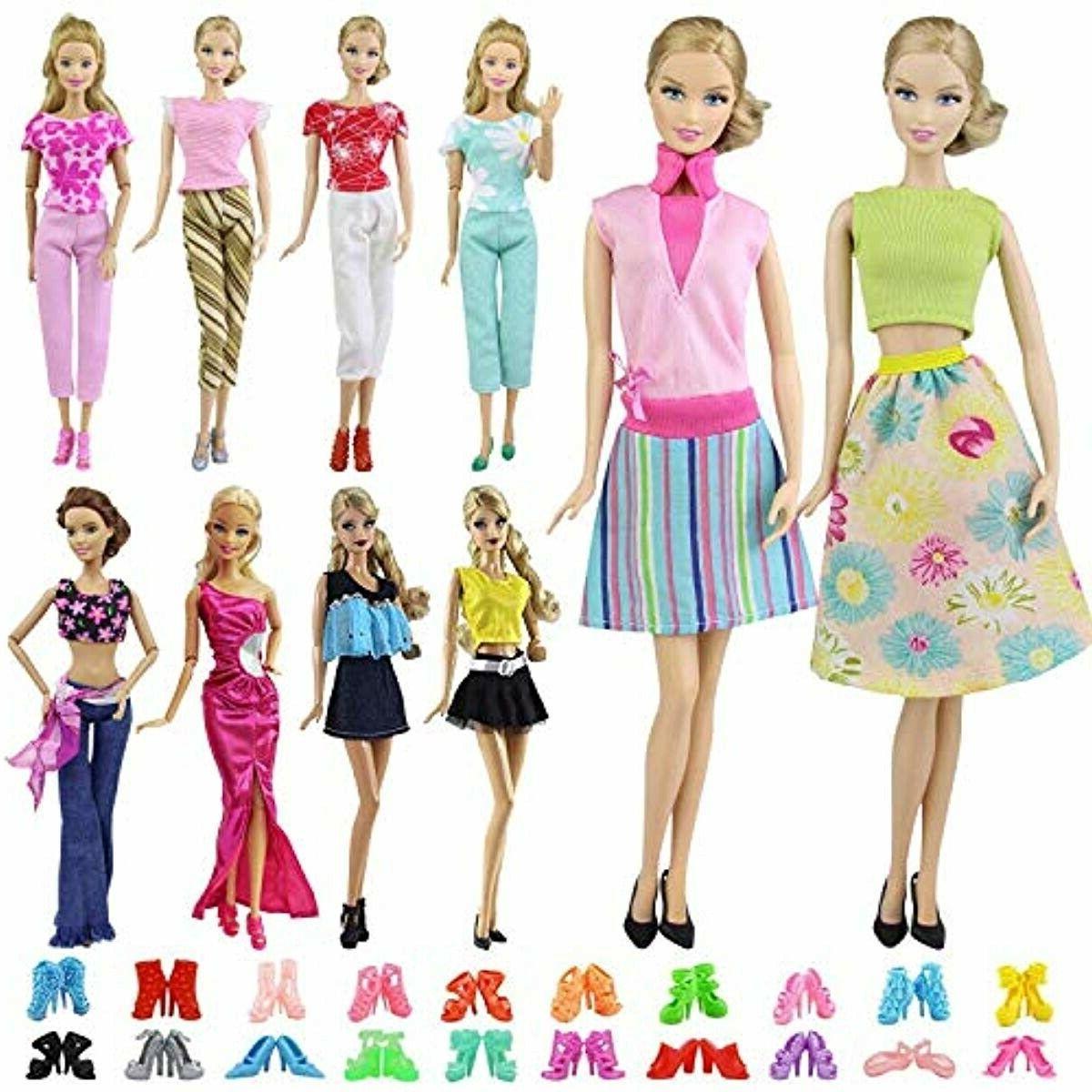 15 pcs 11 5 doll dress accessories