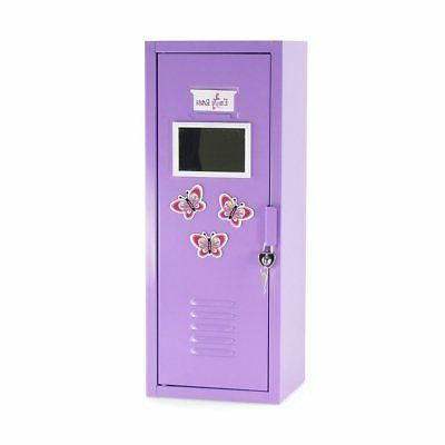 18 Inch Doll Furniture | School Locker Storage Wardrobe with