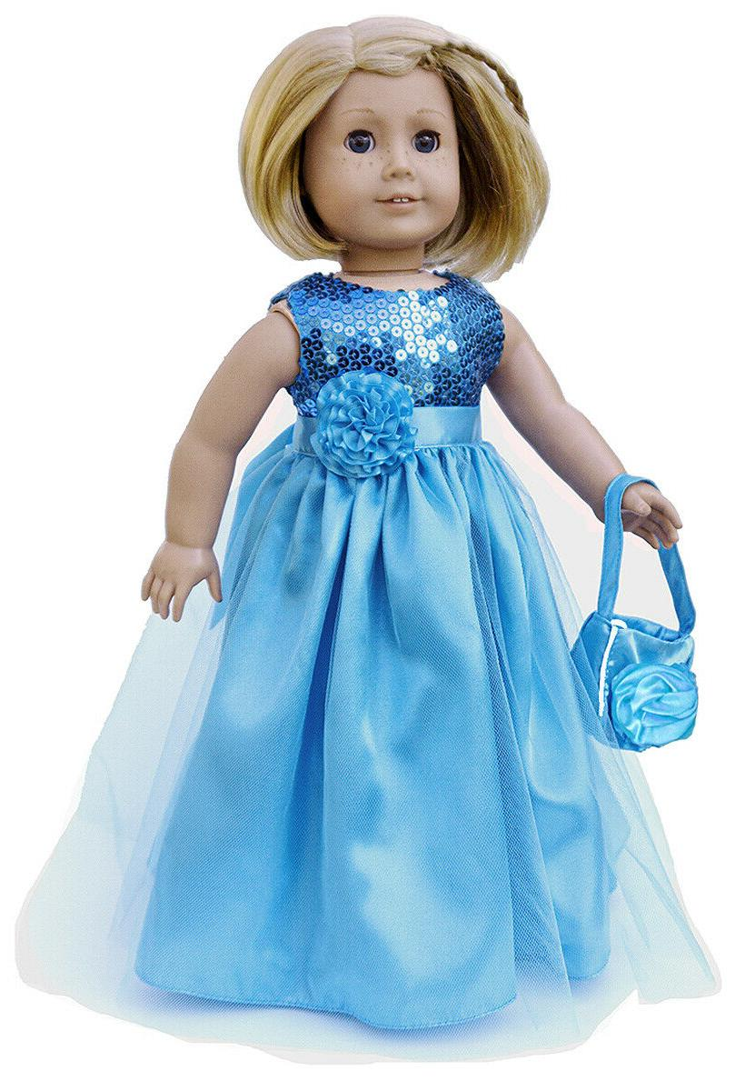 18 doll clothes 18 doll princess dress