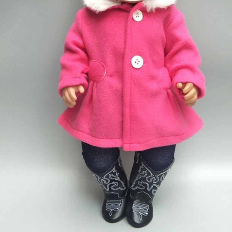 "18"" <font><b>clothes</b></font> set for Baby jacket pants <font><b>doll</b></font> coat pants"