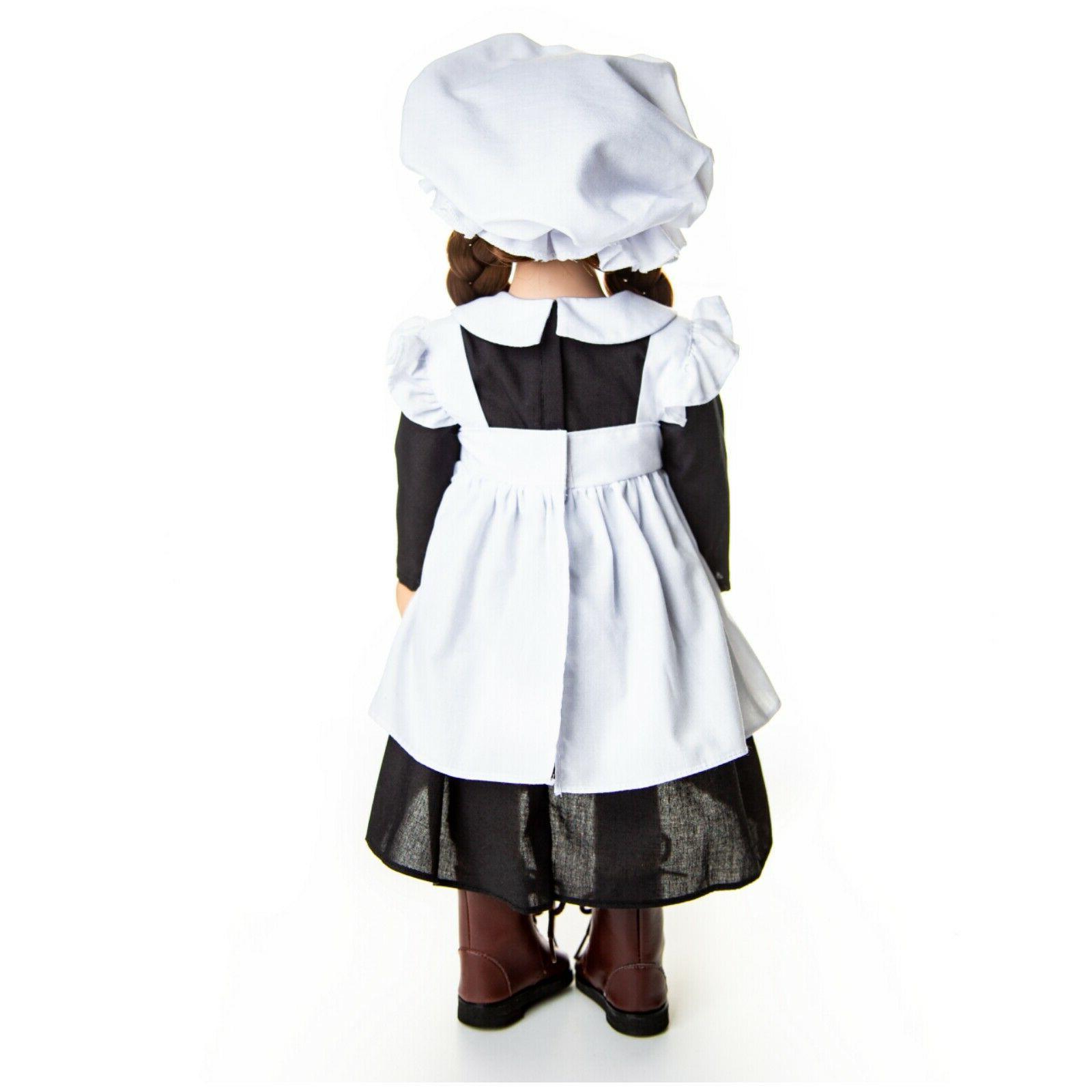 18 Inch Doll 4 MAID Fits American Girl