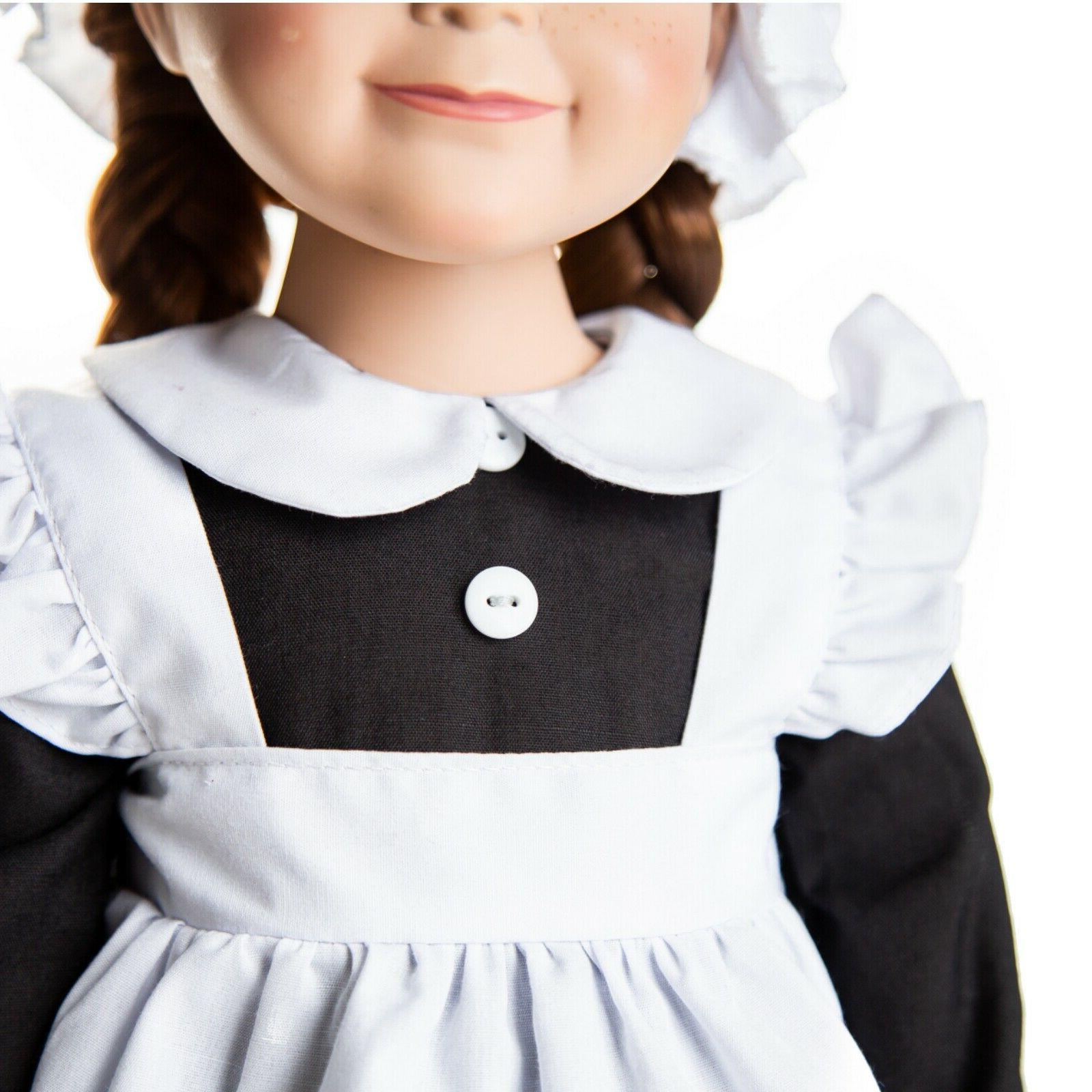 18 Doll 4 PIECE MAID OUTFIT Girl