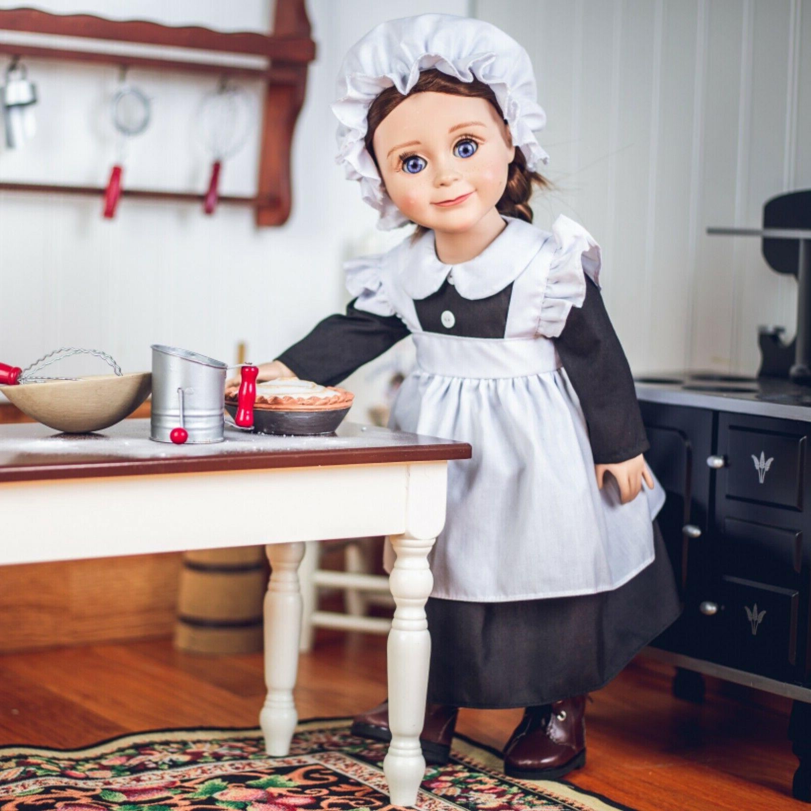 18 inch doll clothes 4 piece historic