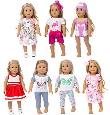 18 inch doll clothes and accessories inlcudes