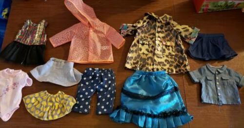 18 inch doll clothes and accessories lot