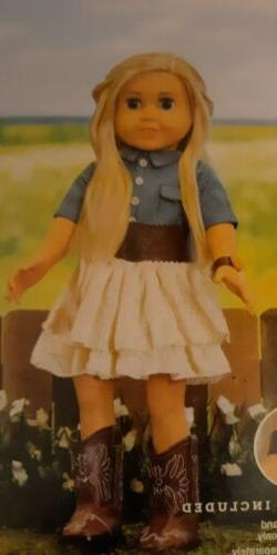 18 doll clothes for American Girl, My Life dolls. OUTFIT