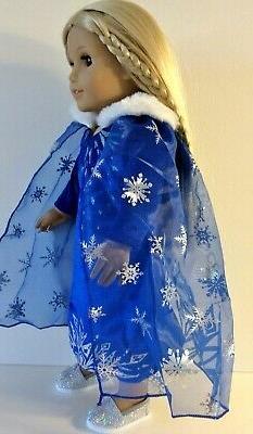 18 Inch Doll CAPE fits Princess