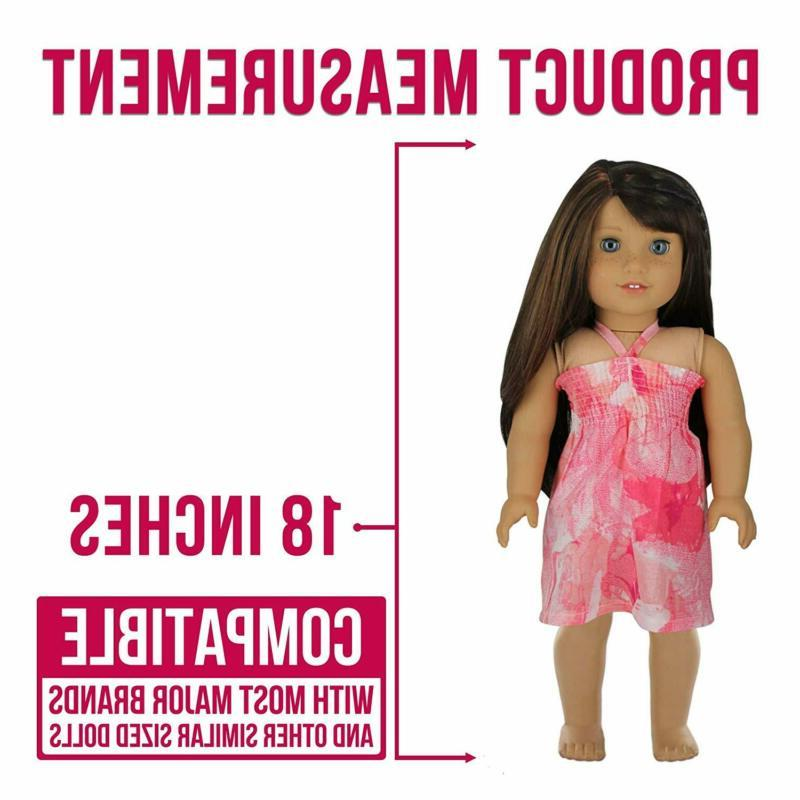 PZAS Toys 18 Inch 10 Outfits Fits Girl