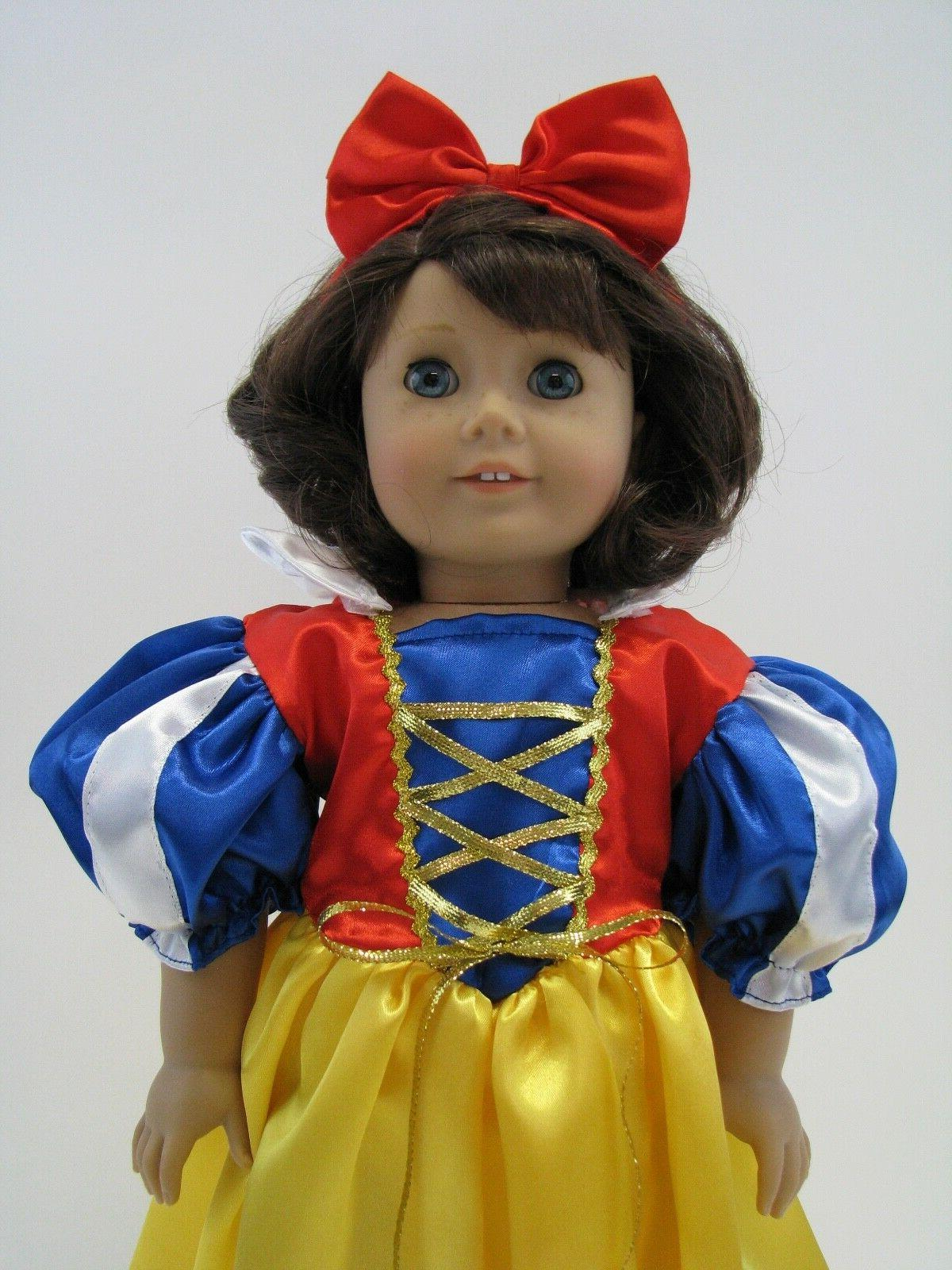 18 Inch Snow White Fits American Girl Doll