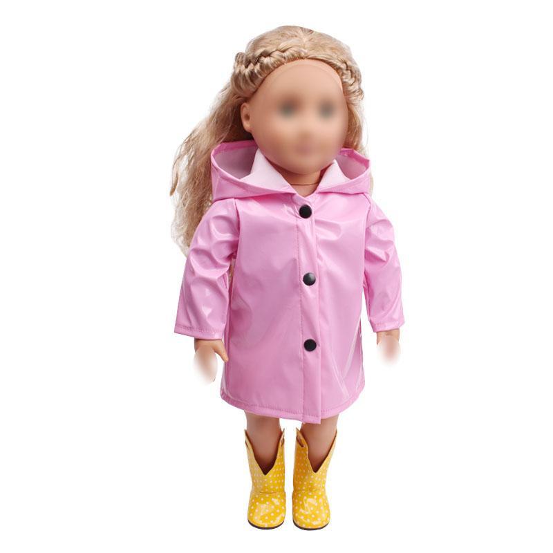 18 inch <font><b>Girls</b></font> <font><b>doll</b></font> coat <font><b>American</b></font> new dress Baby toys 43 c539