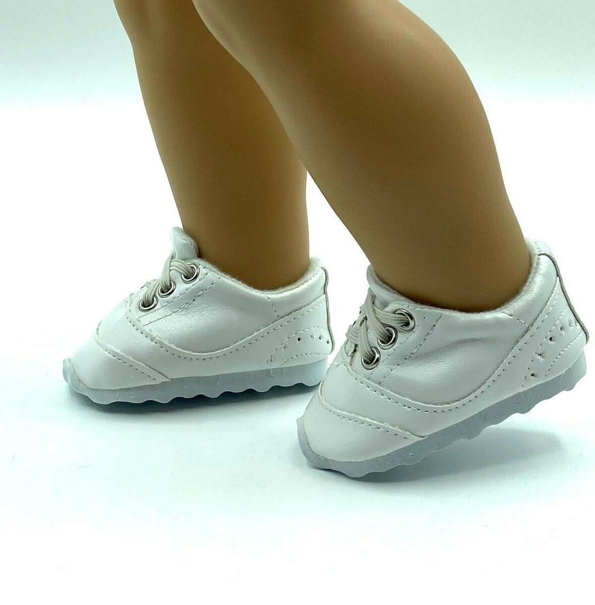 18 Girl Clothes Shoes No Tie Sneakers American seller
