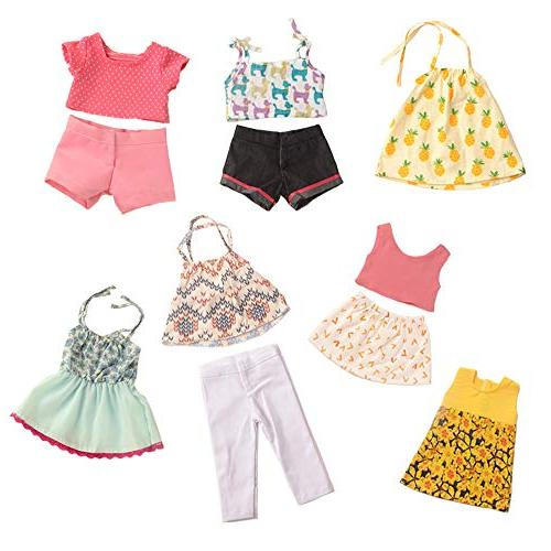 sweet dolly Doll Outfits Mixed for Girl Doll, Journey Doll