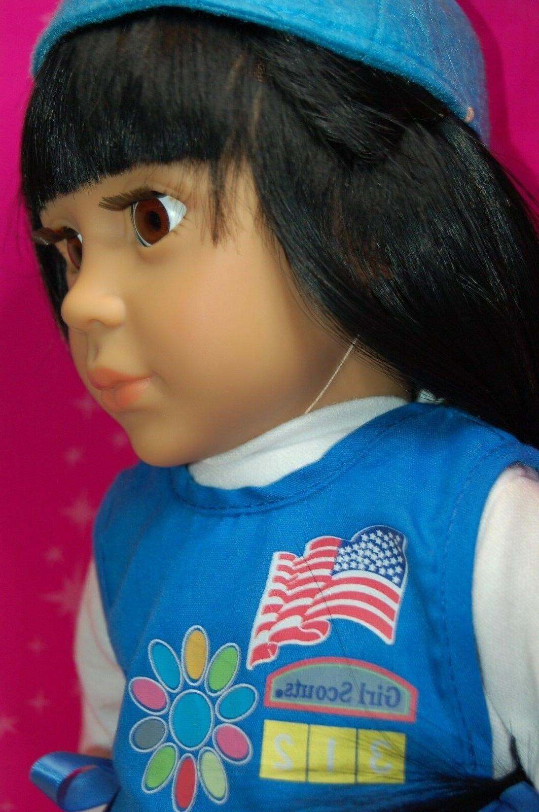 "2011 18"" Scout Daisy doll with clothes"