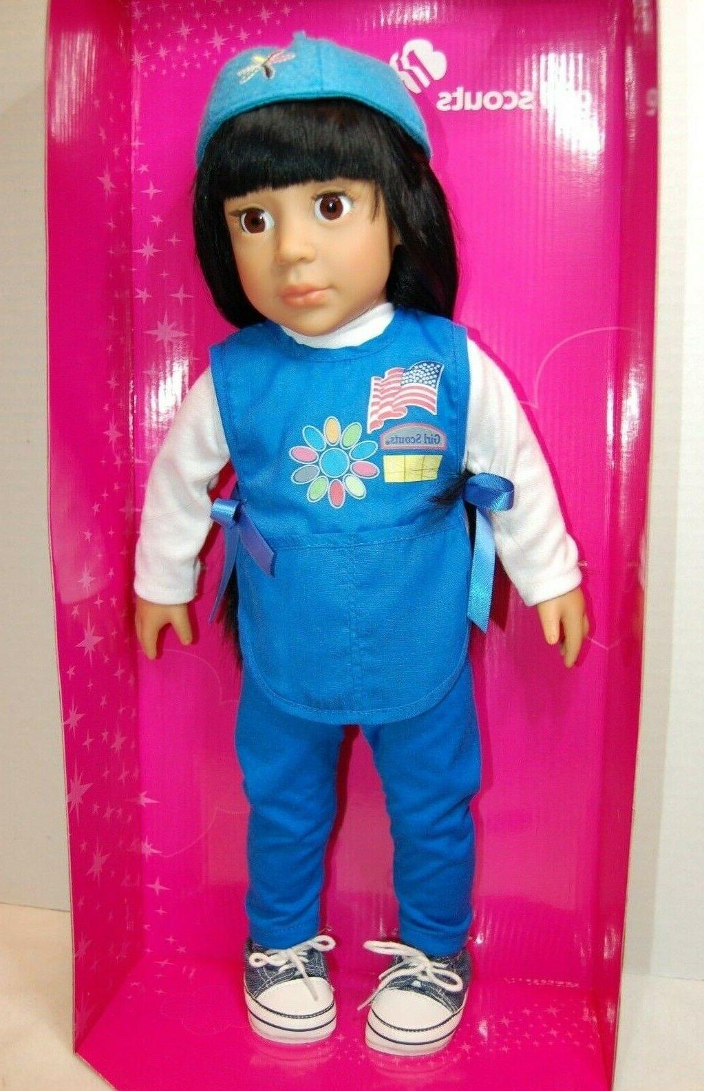 2011 18 ava girl scout daisy doll