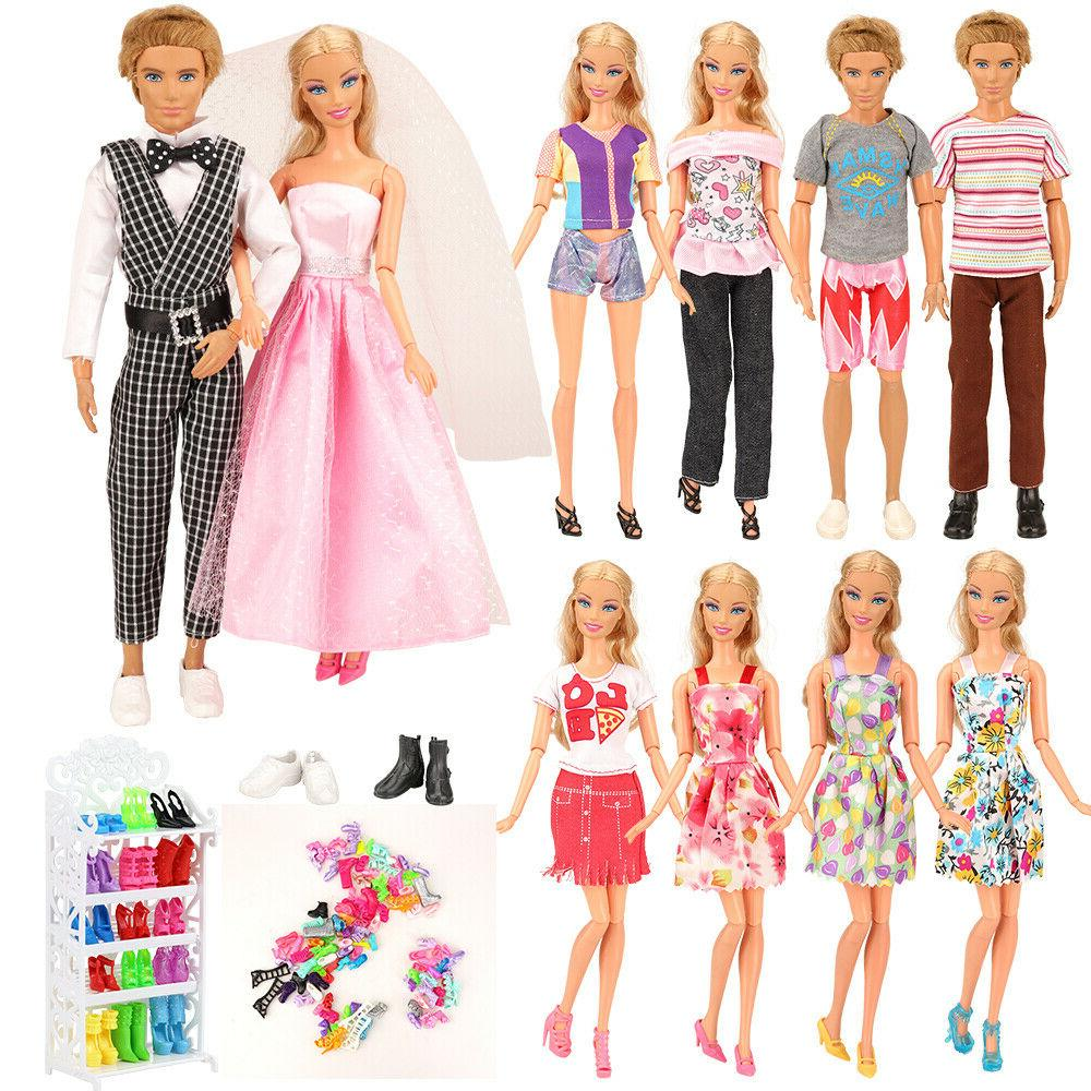 23 pcs doll clothes and accessories great
