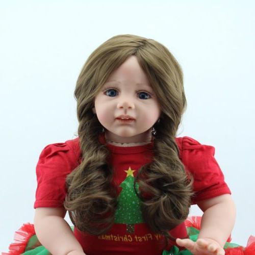 """24""""Reborn Baby Dolls Handmade Toddler Vinyl Silicone Newborn"""