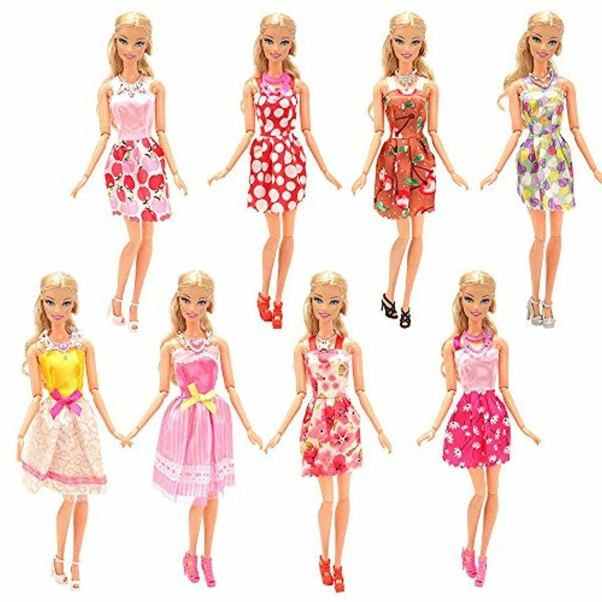 BARWA 32 Doll Clothes 10 pcs 22 pcs Shoe