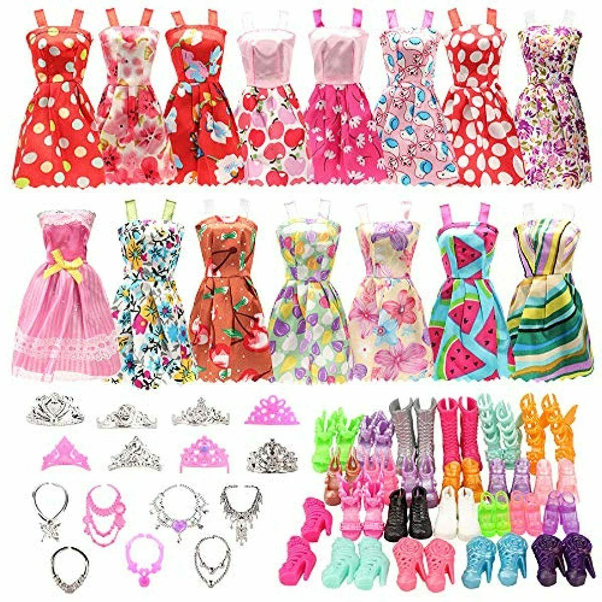 32 pcs doll clothes and accessories 10