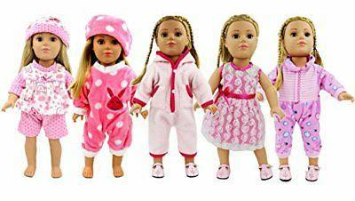 5 lots bitty doll dress