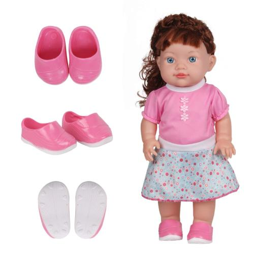 Huang Cheng Toys 5 Pairs of Shoes 15-16 Inch Doll Sneakers