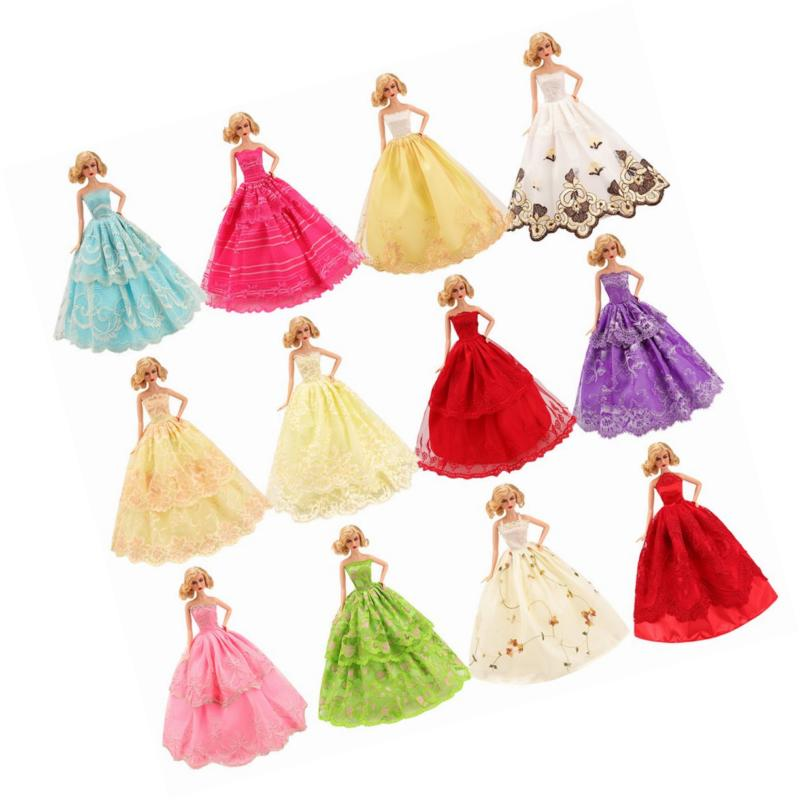 BARWA 5 Pcs Doll Clothes Party inch Doll