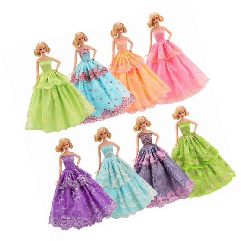 BARWA 5 Pcs Doll Clothes inch Doll