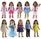 "New 5 Set Doll Clothes for 18"" inch American Girl Doll Casua"