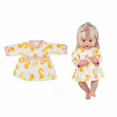 Huang PCS Lovely Doll Reborn Newborn Nightgown