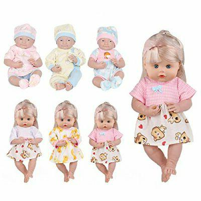 6 pcs alive lovely baby doll reborn