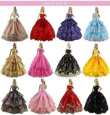 6 pcs handmade clothes dress for 11