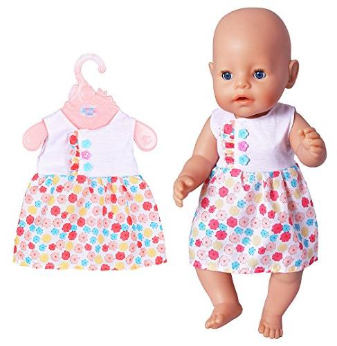 ebuddy 6 Clothes for to Born Dolls for Girl