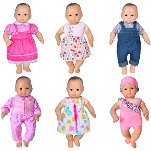 ebuddy Clothes for to Born Dolls for 18 Girl