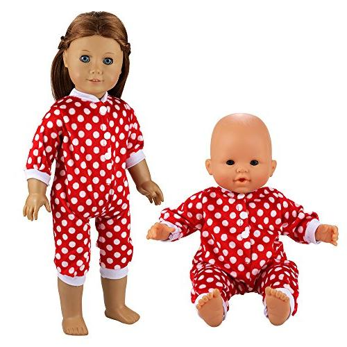 BARWA Clothing Costume for 16 Dolls and Inch Dolls