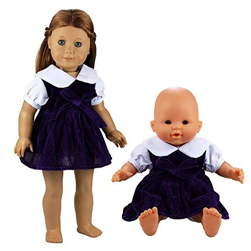 BARWA Clothing Costume for 16 Baby and 18 Dolls