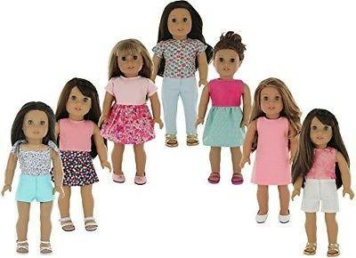 PZAS Toys Set, 18 Clothes,