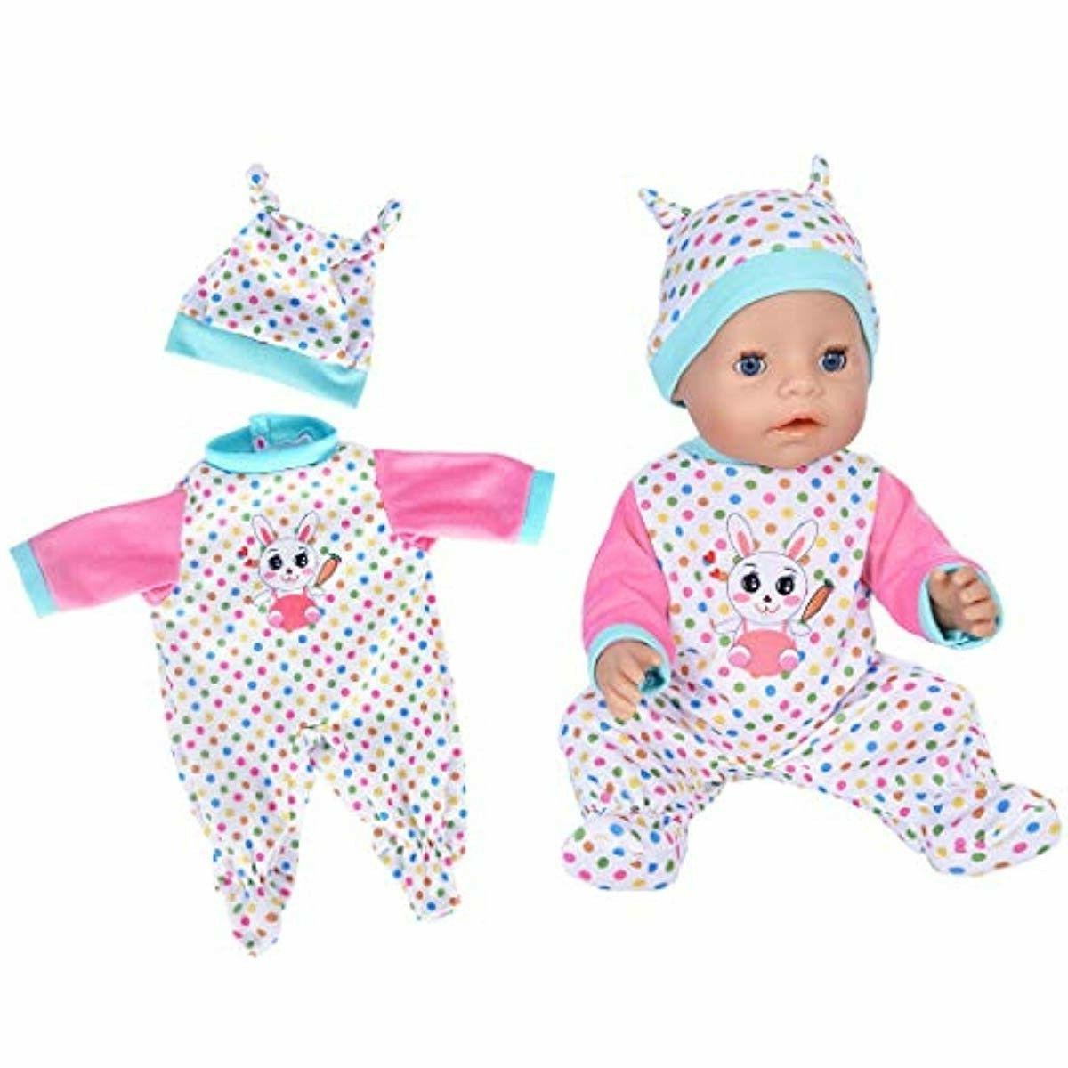 7 Pcs Doll for New Baby Dolls/ Bitty