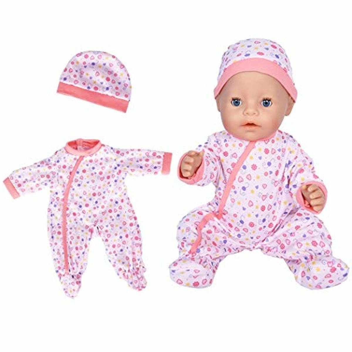 7 with and for 43cm New Born Baby Dolls/ 15 inch Bitty
